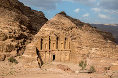 The Monastery in Petra, Jordan Stock Photo