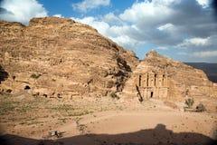 The Monastery in Petra, Jordan Stock Photos