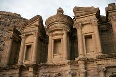 The Monastery in Petra, Jordan Stock Image