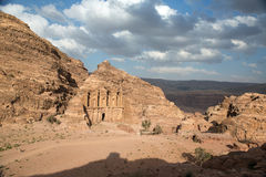 The Monastery in Petra, Jordan Royalty Free Stock Image