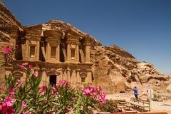 The Monastery, Petra Stock Image
