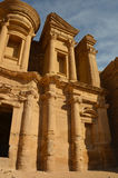 The Monastery, Petra Royalty Free Stock Photo