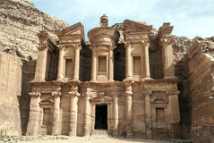 The Monastery of Petra Royalty Free Stock Images