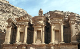 The Monastery of Petra Royalty Free Stock Image