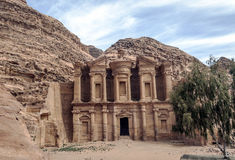 The Monastery of Petra Stock Photography