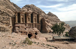 The Monastery of Petra Royalty Free Stock Image