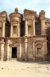 The Monastery of Petra Royalty Free Stock Photo