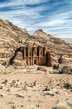 The Monastery of Petra Royalty Free Stock Photography