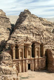The Monastery of Petra Stock Images