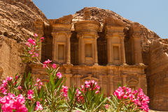 The Monastery, Petra stock photography