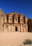 The Monastery at Petra Royalty Free Stock Image