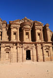 The Monastery at Petra Stock Photography
