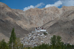 The monastery. This is a photo of monastery in India Royalty Free Stock Photo