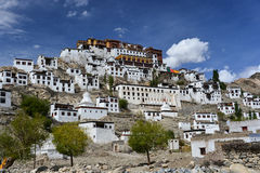 The Monastery. This is a photo of monastery in India Royalty Free Stock Images