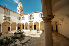 Monastery in Piran, Slovenia Stock Photography