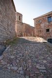 Monastery place. Fracia Peak monastery Salamanca (Spain) (Europe Stock Photos