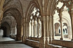 Monastery of poblet Stock Photography