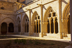 Monastery of Poblet Stock Photos