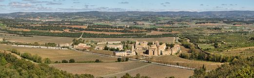 Monastery of Poblet, Spain Stock Photo