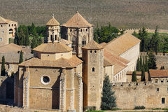 Monastery of Poblet, Spain Stock Images