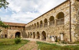 Monastery Pojan of Saint Mary in Apollonia. Stock Photos