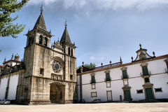 Monastery of Pombeiro Royalty Free Stock Photo