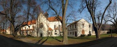 Monastery Porta coeli in Predklasteri u Tisnova Royalty Free Stock Photo