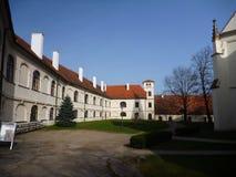 Monastery porta coelli in Tisnov in czech republic Stock Photo