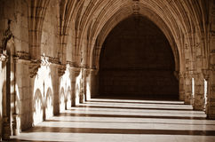 Monastery in Portugal Stock Images