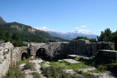 Monastery Ratac. Montenegro Bar Monestery Ratac historia Stock Photography