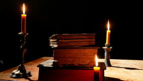 Monastery Reading Room stock footage