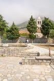 Monastery Rezevici, Montenegro stock images