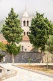 Monastery Rezevici in Montenegro royalty free stock photo