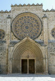 Monastery Sant Cugat del Valles.Catalonia Stock Image