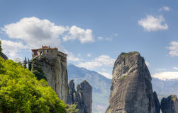 Monastery of Rousanou, Meteora, Greece Royalty Free Stock Photo