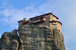 Monastery Roussanov, Meteora, Greece Royalty Free Stock Images
