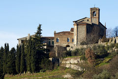 Monastery. Rovato (Bs), Italy, the convent of annunciation Royalty Free Stock Photography