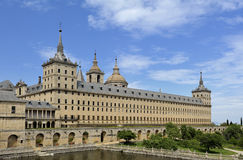 Monastery and Royal residence El Escorial (Spain) Royalty Free Stock Photo