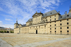 Monastery and Royal residence El Escorial (Spain) Stock Image