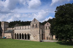 Monastery Ruin of Paulinzella Royalty Free Stock Photo