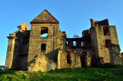 Monastery. The ruins of the monastery Royalty Free Stock Photography