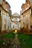 Monastery. The ruins of the monastery Royalty Free Stock Photos