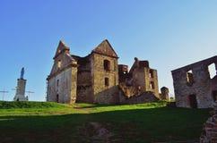 Monastery. The ruins of the monastery Stock Photo