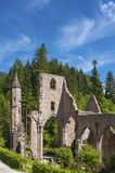 The monastery ruins of All Saints Allerheiligen in Oppenau Royalty Free Stock Images