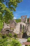 The monastery ruins of All Saints Allerheiligen in Oppenau Royalty Free Stock Photos