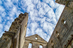 Monastery ruins in Paulinzella in Thuringia. The Monastery ruins in Paulinzella in Thuringia royalty free stock photography