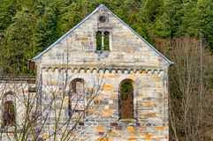 Monastery ruins in Paulinzella in Thuringia. The Monastery ruins in Paulinzella in Thuringia royalty free stock image