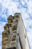 Monastery ruins in Paulinzella in Thuringia Germany. The Monastery ruins in Paulinzella in Thuringia Germany stock photo