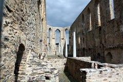 Monastery ruins Stuben Stock Images