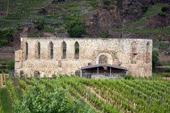 Monastery ruins Stuben Royalty Free Stock Image